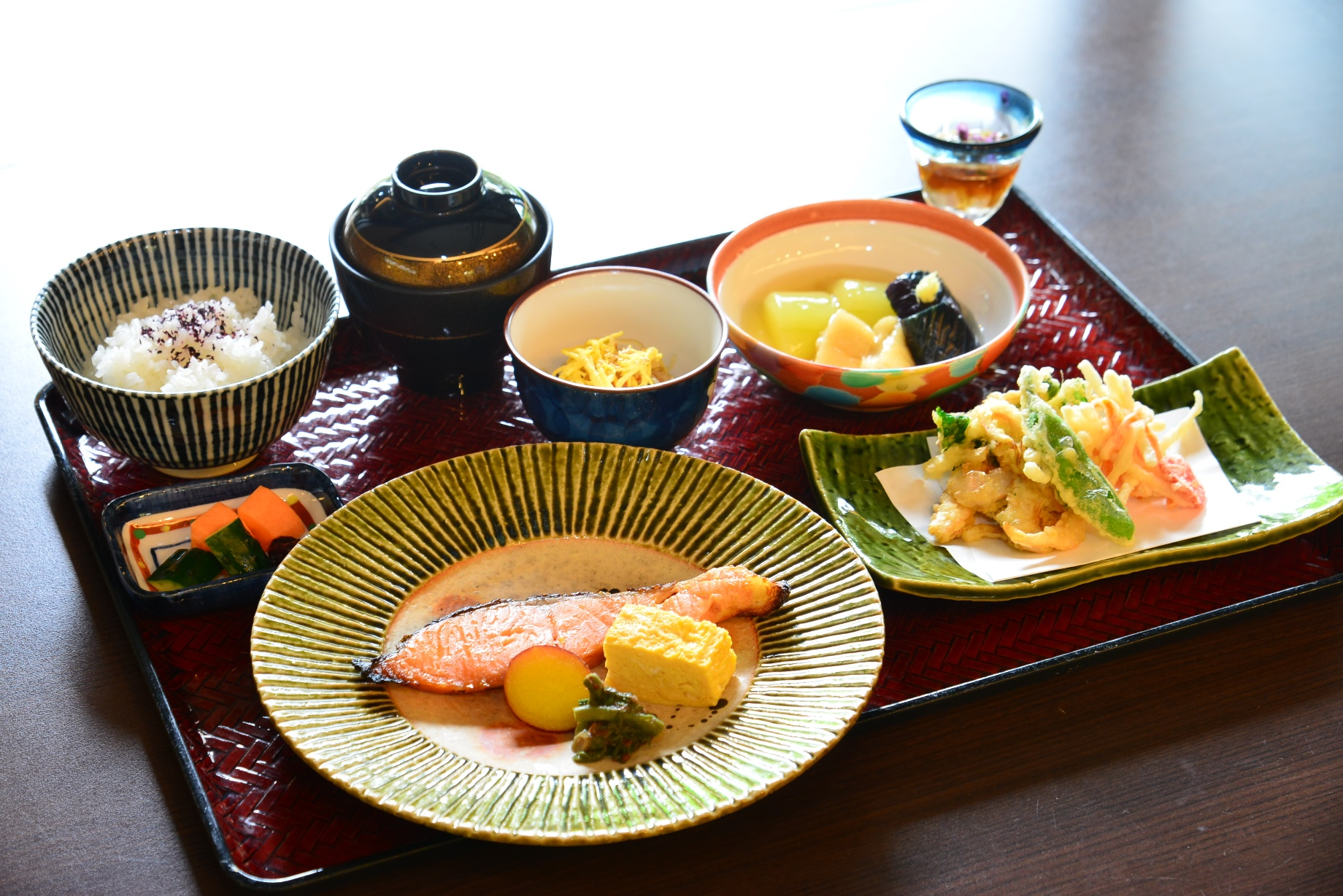 5月6月 越の国御膳 魚 季節のお造り付